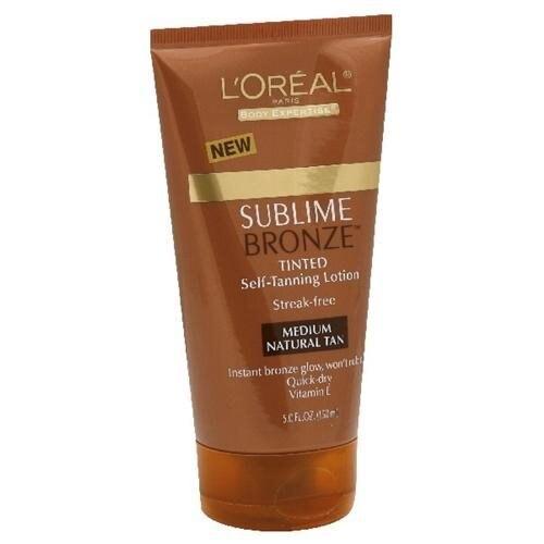 L'Oreal Paris Sublime Bronze Self-Tanning Lotion Medium