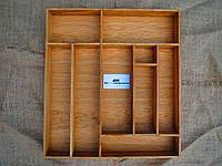 Лоток для столовых приборов из дуба D3 590.480 (индивидуальные размеры), фото 1