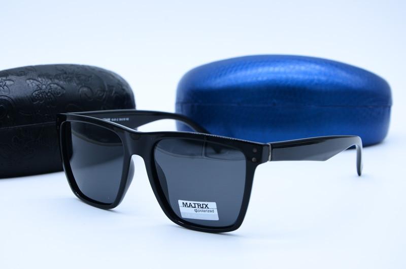 Чоловічі сонцезахисні фірмові окуляри Matrix 8496 с10