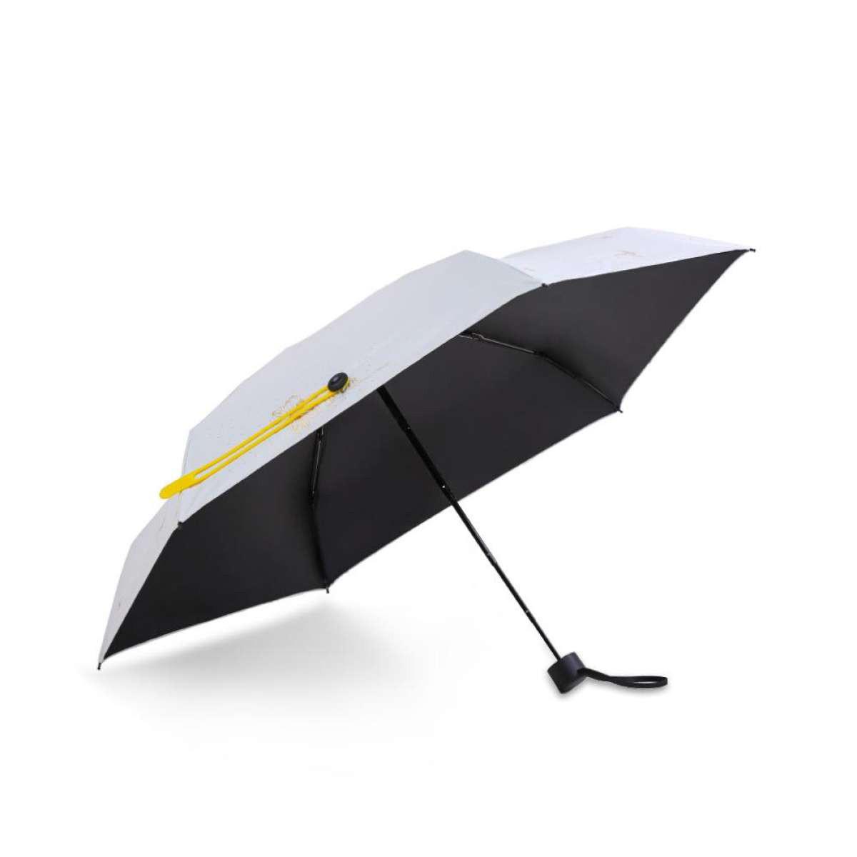 Зонт Remax Pattern Series Dual-Use Pocket Umbrella RT-U8 White