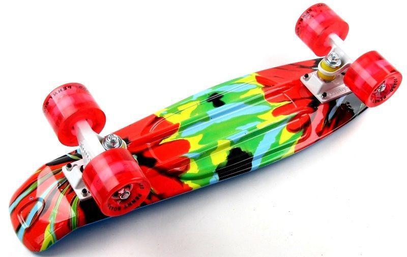 """Penny Board """"Organic"""" 2in1 Светящиеся колеса."""