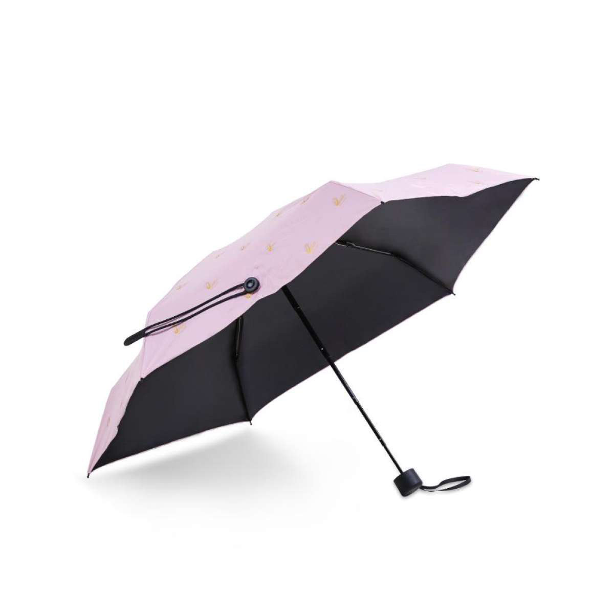 Зонт Remax Pattern Series Dual-Use Pocket Umbrella RT-U8 Pink