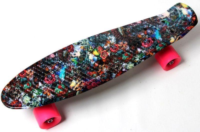 """Скейт Penny Board """"Hipster"""""""