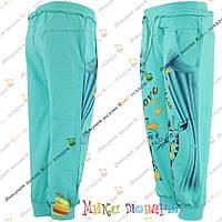 Стильные трикотажные штаны для девочек Рост: 92- 128 см (3473-2)