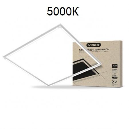 Светодиодная рамка (арт-панель) VIDEX ART 40W 4000Lm 5000К