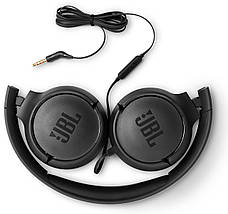 Наушники JBL Tune 500 с микрофоном Черный (JBLT500BLK), фото 3