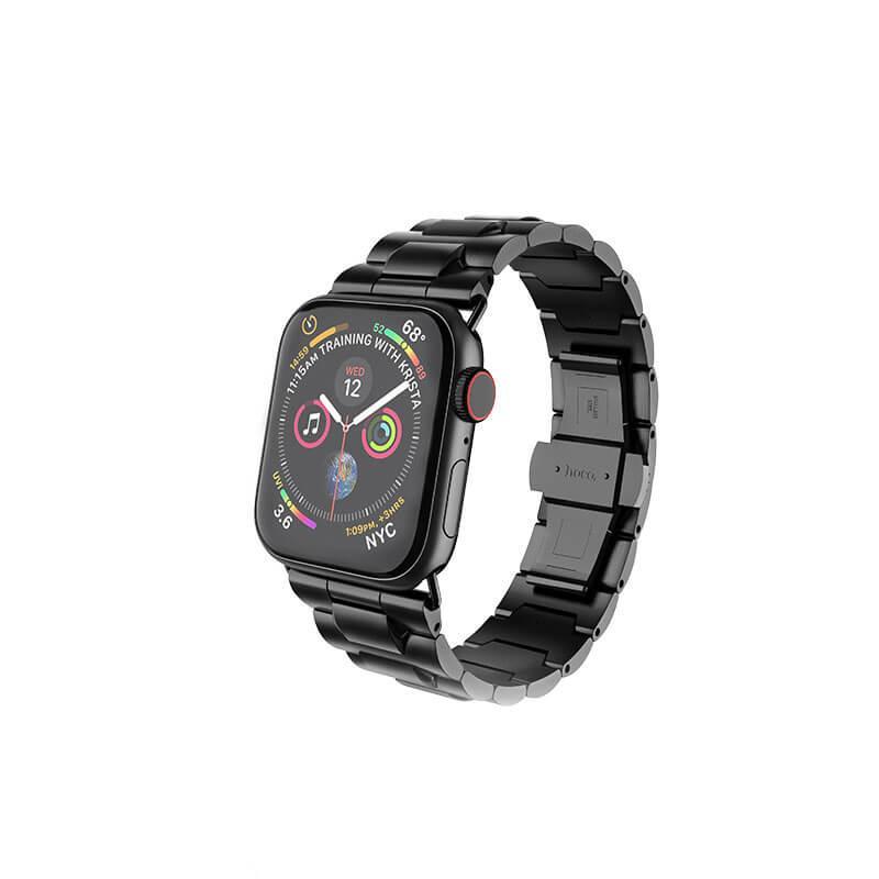 Ремешок HOCO для Apple Watch Series 4/3/2/1 (38/40 мм) Черный (WB03)