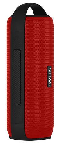 Портативная колонка беспроводная Nomi BT 525 Play Duos Red, фото 2