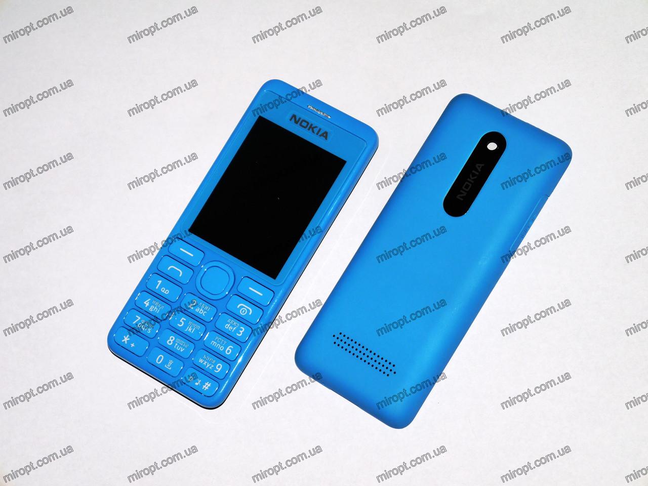 Телефон NOKIA Asha 206 - 2Sim+Cam+BT+FM