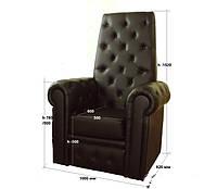 "Кресло для педикюра ""Трон""Королева"