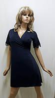 Халат женский на запах из микромасла  422