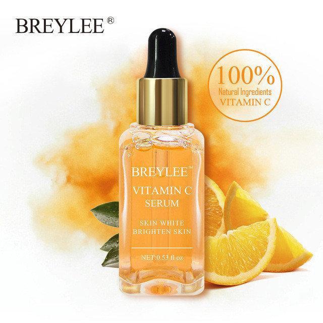 Сыворотка для лица  BREYLEE Vitamin C с витамином С Антиоксидантный эффект + Увлажнение + Осветление 15 ml