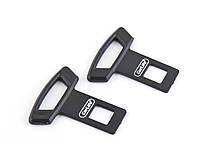 Заглушки в ремень безопасности CarLife ✓ материал: пластик ✓ комплект 2шт