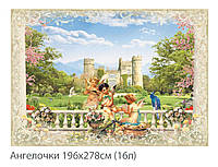 Фотообои  № 10 Ангелочки (плотная бумага) 196х278