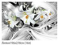 Фотообои  № 2 Лилии (плотная бумага) 196х278