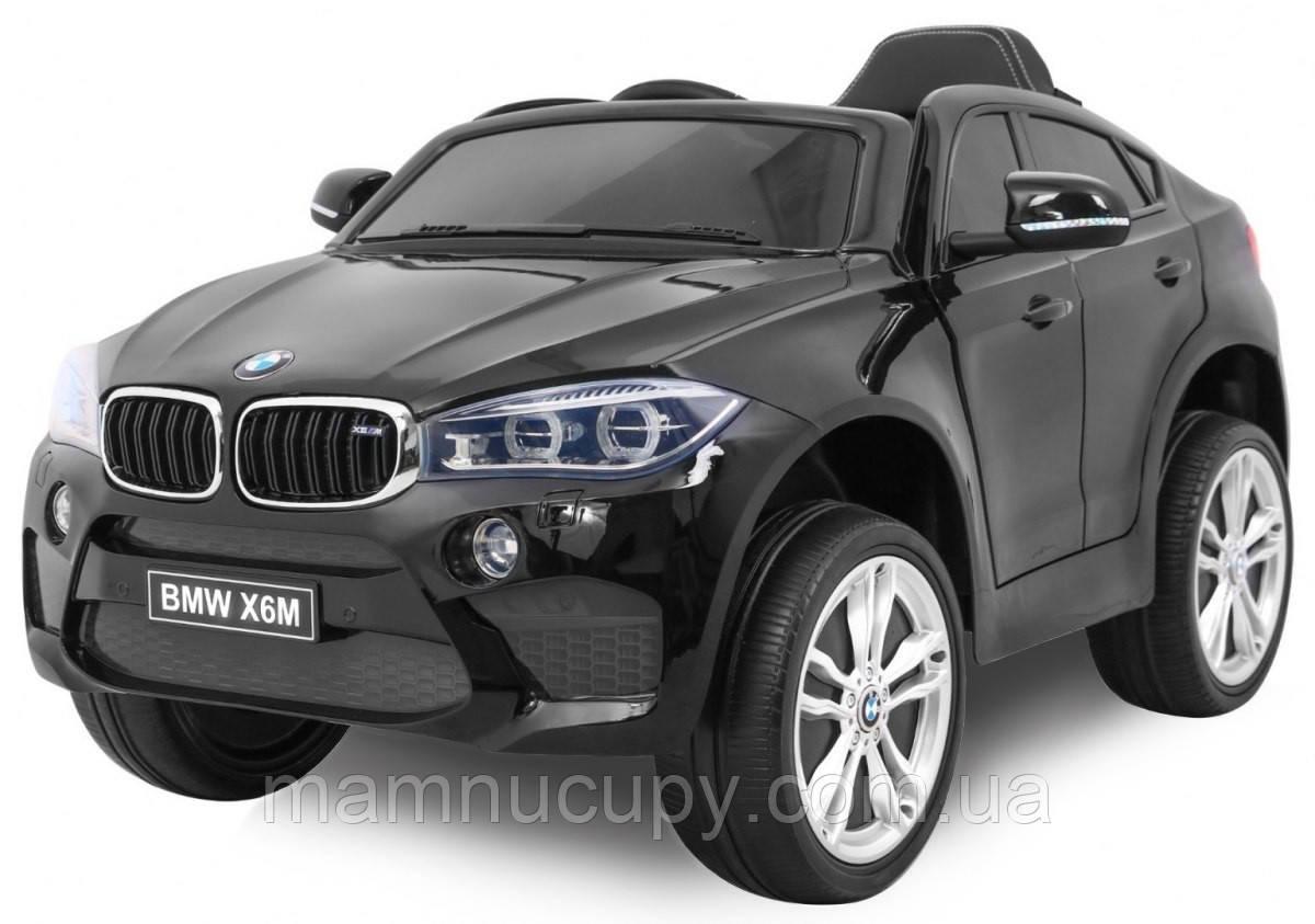 Детский электромобиль BMW X6M JJ2199 Black