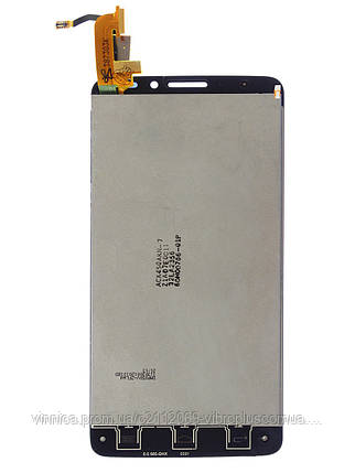 Дисплей (экран) Alcatel 6040D OneTouch Idol X with touch screen (с тачскрином в сборе), black (черный), фото 2
