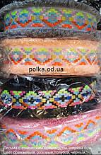 Цветная тесьма с этническим орнаментом, ширина 6см (1 уп20 яр=18м)