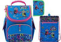KITE набор комплект 3 в 1 Рюкзак Pretty owls K18-501S-6 + сумка K18-601M-1 + пенал К18-622-1