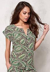 Блуза рубашка зеленого цвета Dolly 3 от Desires (Дания) в размере S