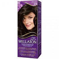 Крем-краска для волос Wellaton стойкая 3/0 Темный Шатен (4056800965922)
