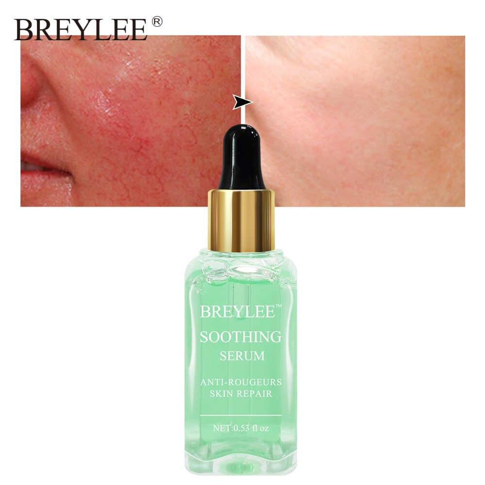 Восстанавливающая и успокаивающая сыворотка для чувствительной кожи склонной к покраснениям  BREYLEE Soothing