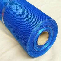 Сетка фасадная (5*5мм), 1х50м, 145 г/м2, синяя