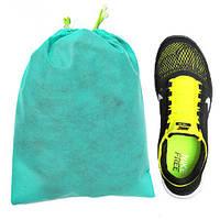 Мешок для обуви, чехол для обуви, зеленый