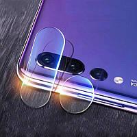 Защитное стекло на камеру Honor 8C, захисне скло