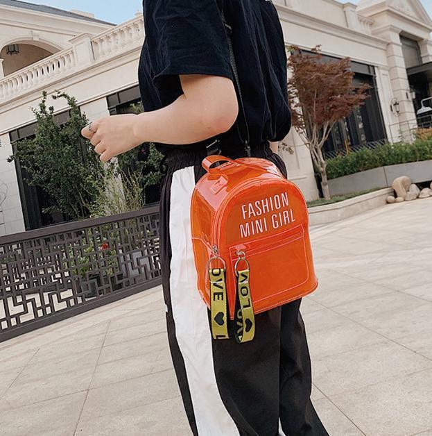 Рюкзак городской женский силиконовый