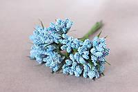 Добавка с травкой 10-12 шт\уп. голубого цвета