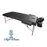Портативный стол для массажа, косметологии кушетка мобильная в чехле сумке тату наращивание ресниц