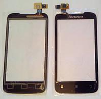 Lenovo A369i сенсорный экран, тачскрин черный