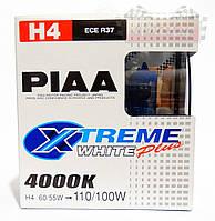 Автолампы PIAA Xtreme White Plus H4 / 4000K / комплект 2шт.