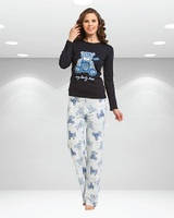 Пижама для девушек, мишка OZTAS kod:A2273