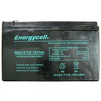 Аккумулятор свинцово-кислотный Energycell RB2/127CS (12V,7,2Ah;1,95кг)