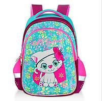 """Школьный рюкзак ортопедический для девочки """"Котёнок"""" с EVA фасадом"""