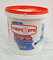 Краска акриловая ИНТЕРЬЕР ТМ «ХИМРЕЗЕРВ»  3 л (4,5 кг), фото 1