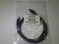 Кабель USB. А-В Perfeo U4102 USB A (п) - USB B (п), 1,8м, фото 1