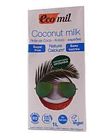 Кокосовое молоко с Кальцием без сахара Ecomil 1000 мл