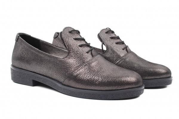Туфли комфорт Grossi натуральный сатин, цвет перламутр