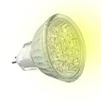 Лампа светодиодная  LED-JCDR 230V 18LED 2,3W G5.3 жёлтая