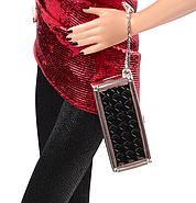 Колекційна лялька Барбі Сяйво міста Красне плаття / City Shine Barbie Doll - Red, фото 4