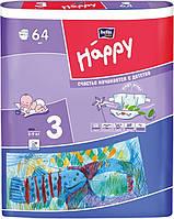 Підгузки Bella Baby Happy Midi 3 (5-9 кг) - 64 шт.