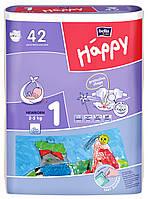 Підгузки Bella Baby Happy Newborn 1 (2-5 кг) - 42 шт.
