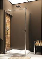Двери распашные левосторонние для монтажа со стенкой Aquaform Verra Line 90 см 103-09381