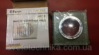 Встраиваемый светильник Feron 8170 (цвет корпуса мерцающее серебро-серебро OLIVE)