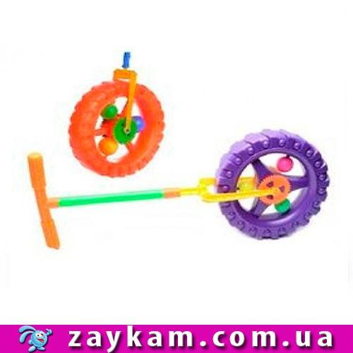 Каталка-колесо трещетка