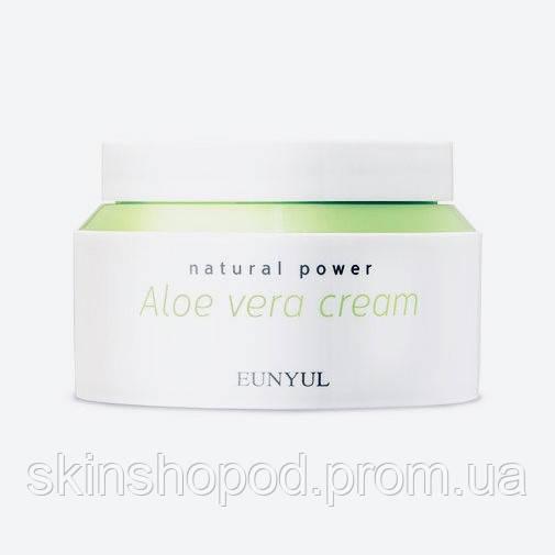 Крем с алоэ вера EUNYUL Natural Power Aloe Cream  - 100 мл