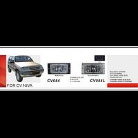 Фары дополнительные модель Chevrolet Niva/CV-084B-W